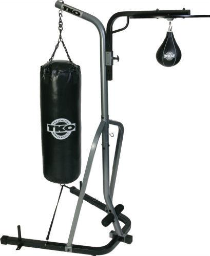 TKO Standing Punching Bag and Speed Bag  Set